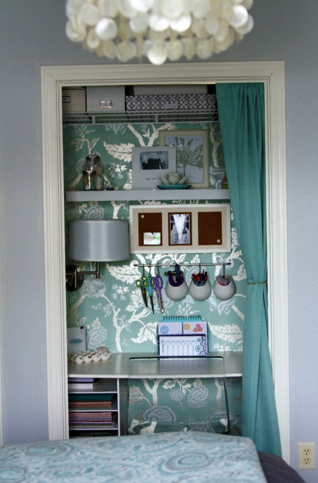 How To Make A Closet Office