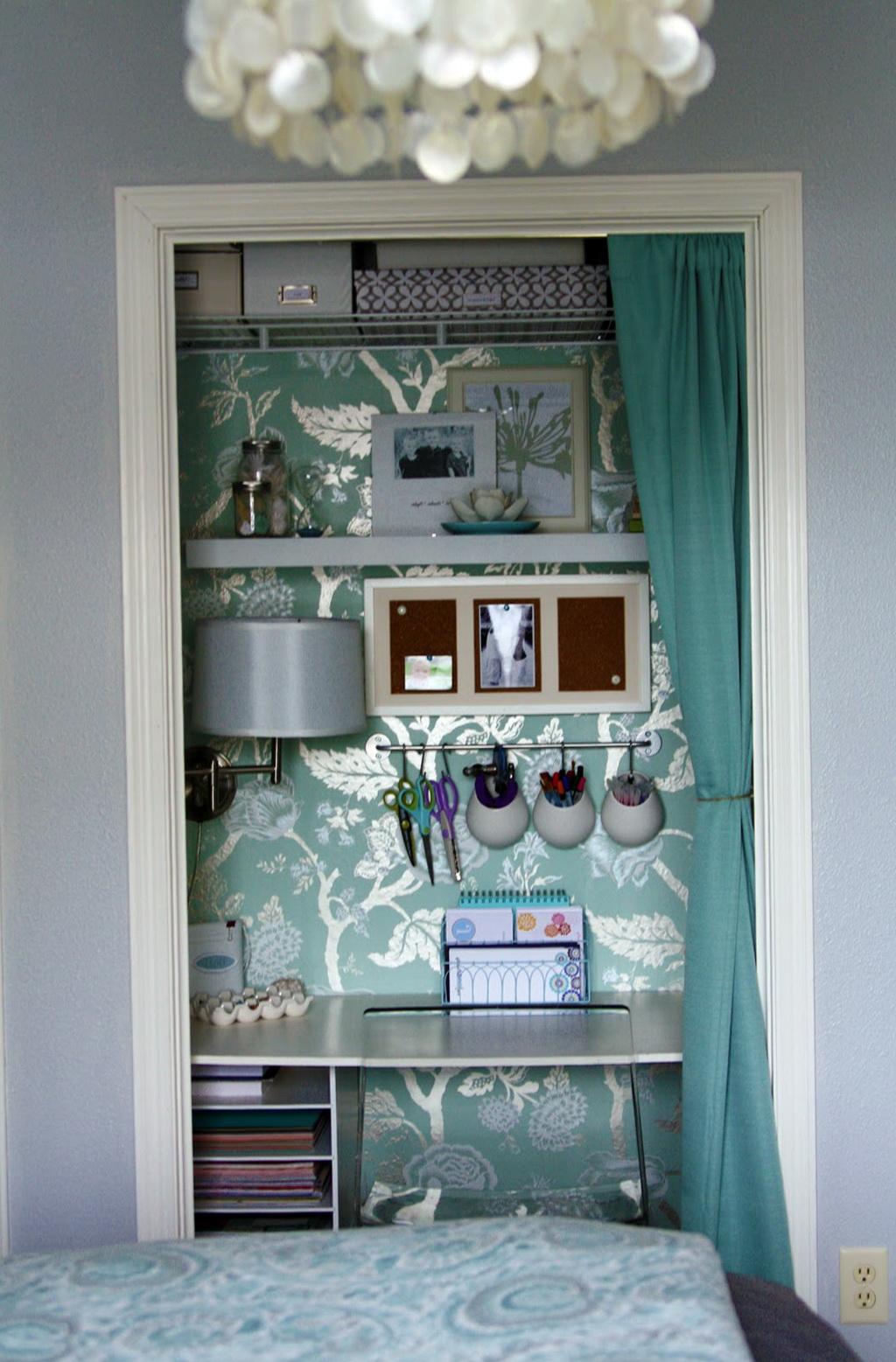 How To Make A Closet Office