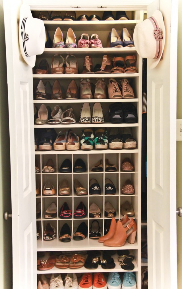 How To Make Shoe Rack For Closet