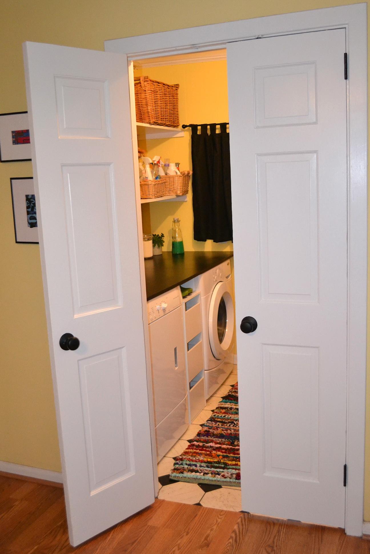 Ideas For Laundry Closet Doors