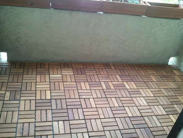 Ikea Deck Tiles On Gravel