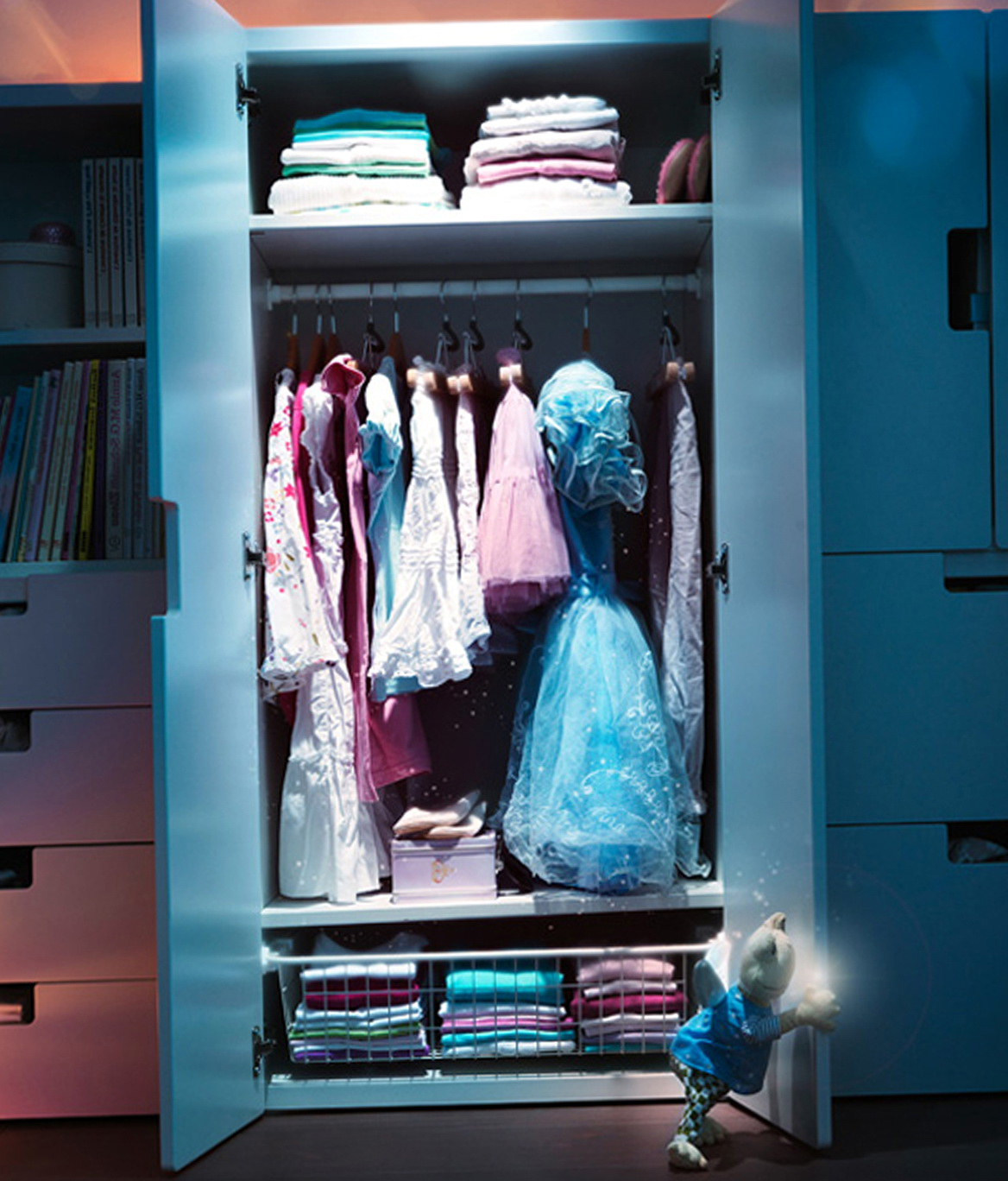 Ikea Kids Wardrobe Closet Home Design Ideas