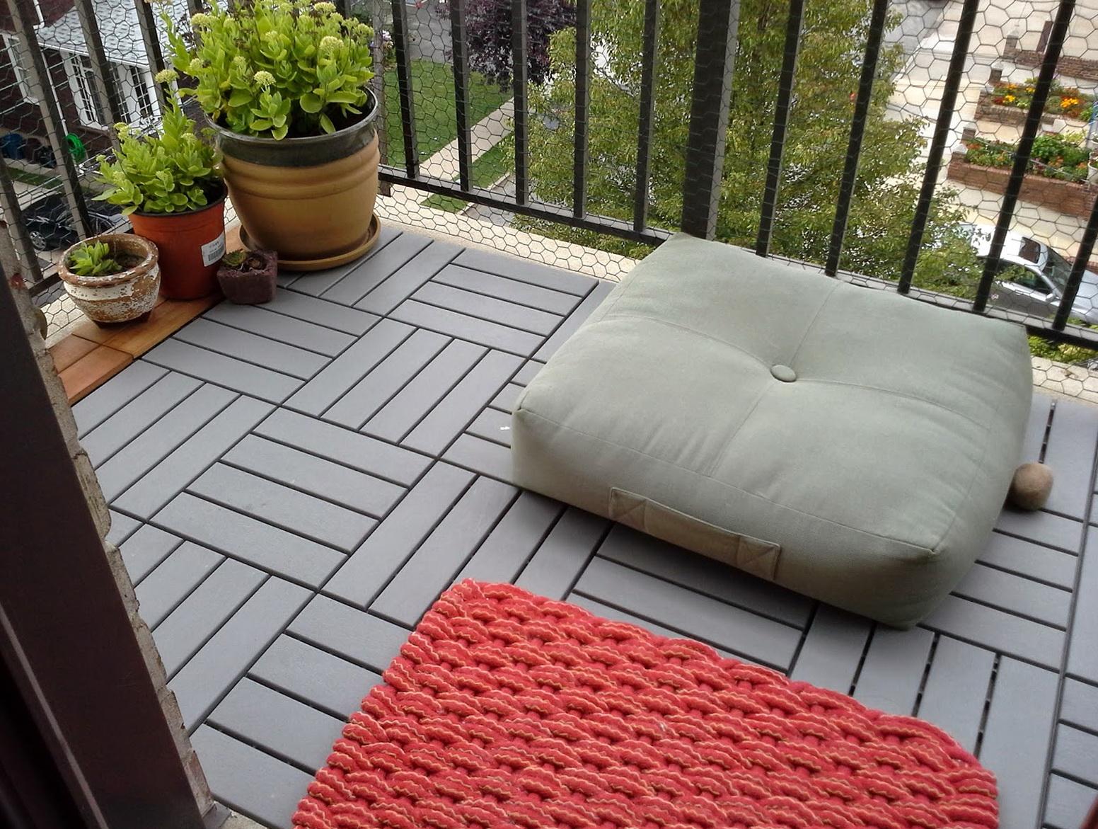 Ikea Wood Deck Tiles