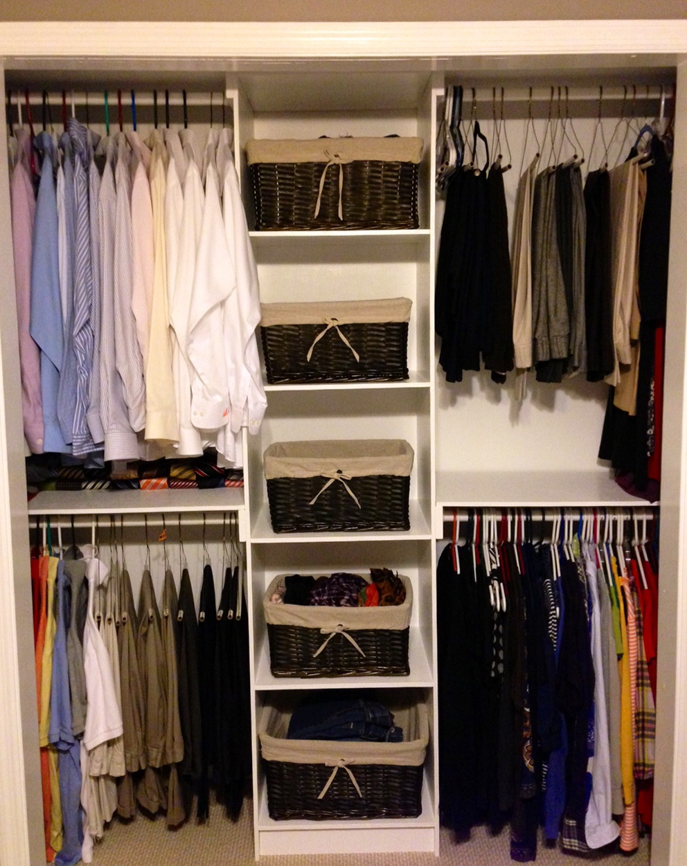 Inexpensive Closet Organizers Do Yourself