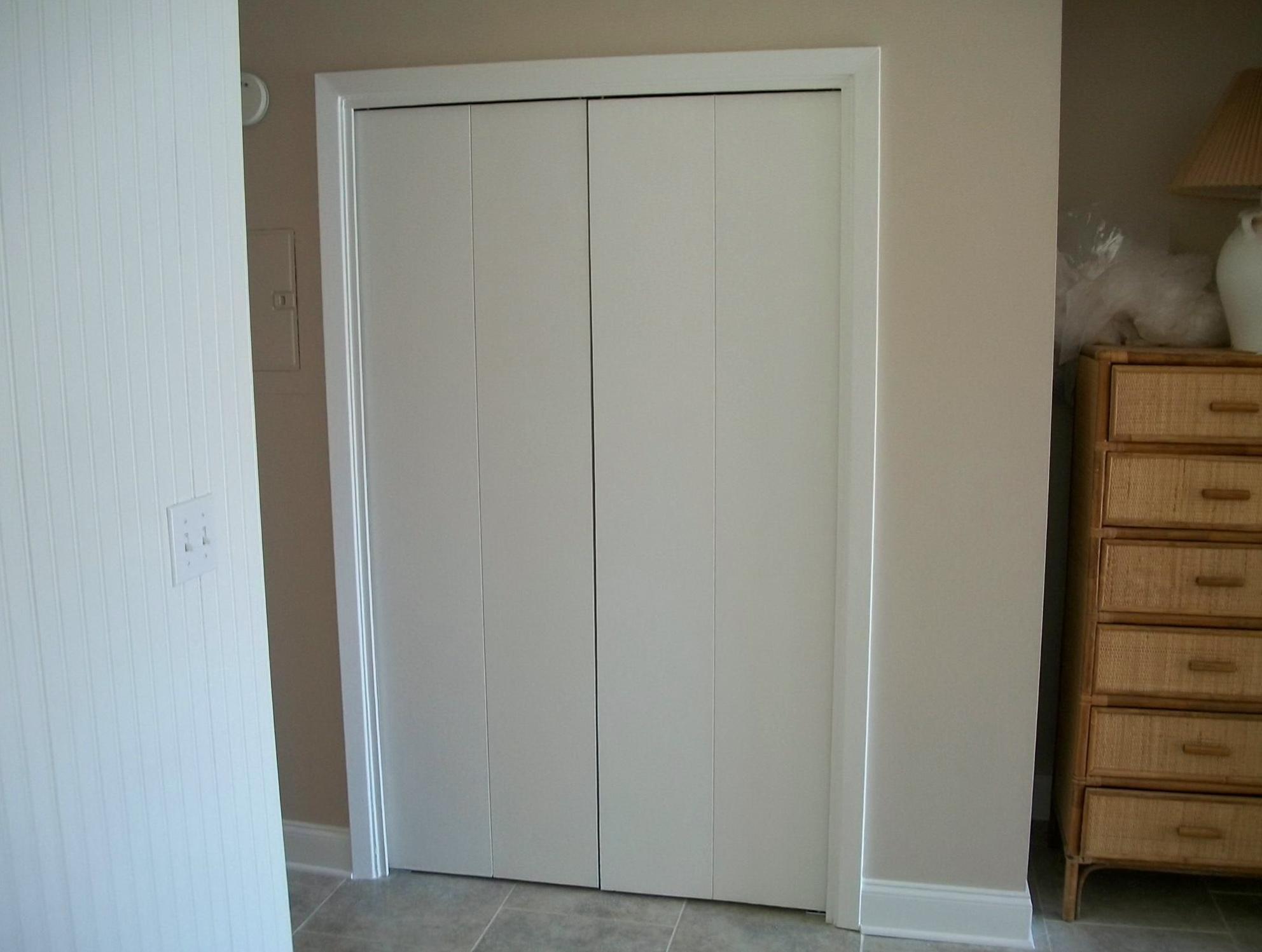 Installing Closet Doors On Tile Home Design Ideas