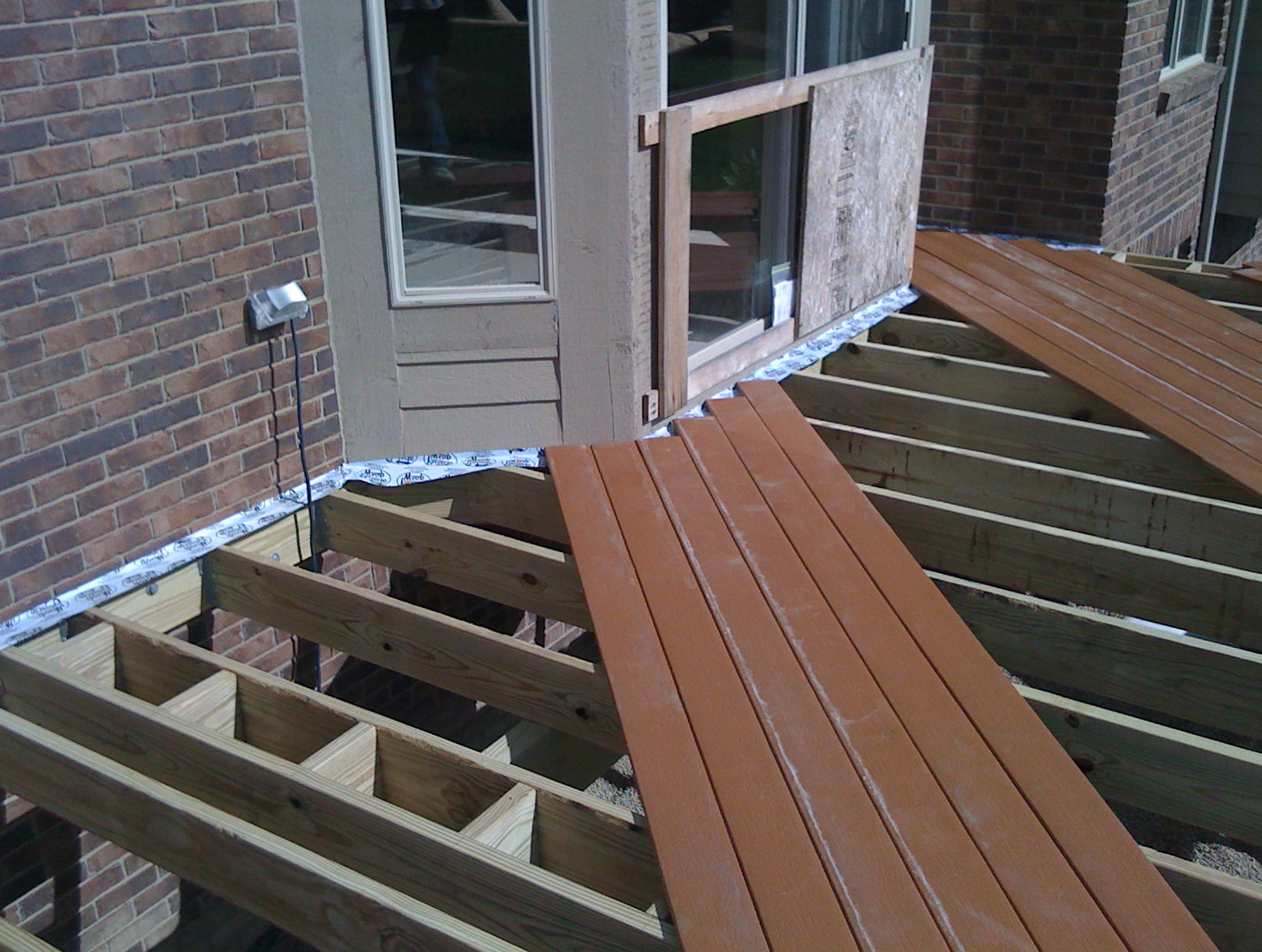 Installing Deck Boards With Arch Up