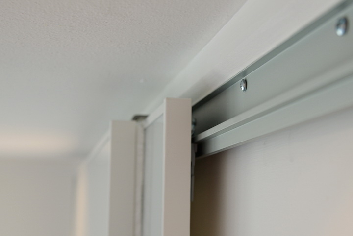 installing sliding closet doors on tracks home design ideas