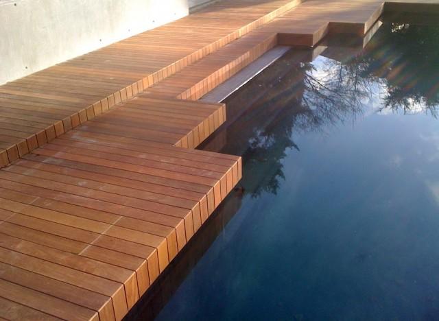 Ipe Wood Pool Deck