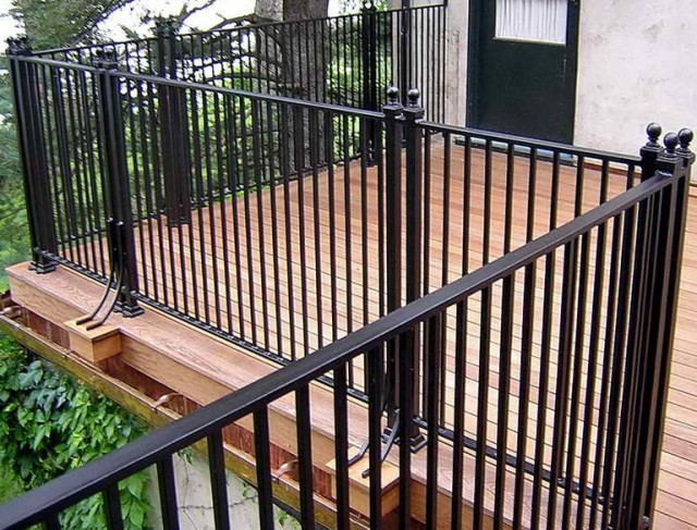 Iron Deck Railing Designs