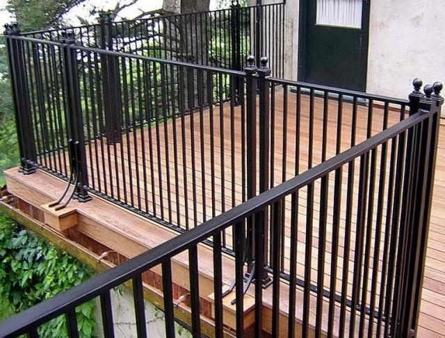 Iron Deck Railing Designs