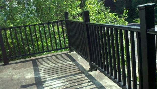 Iron Deck Railing Home Depot