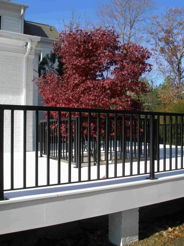 Iron Deck Railing Systems