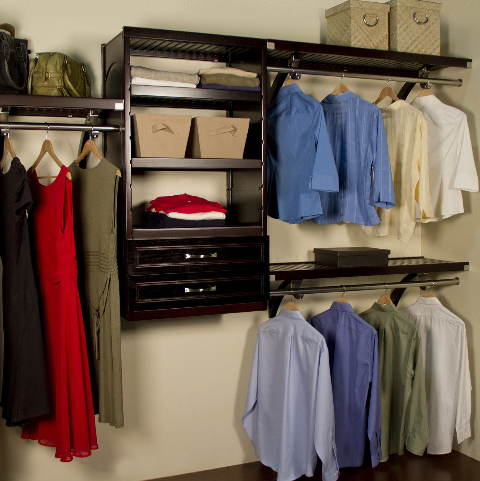 Charming John Louis Closet System Costco