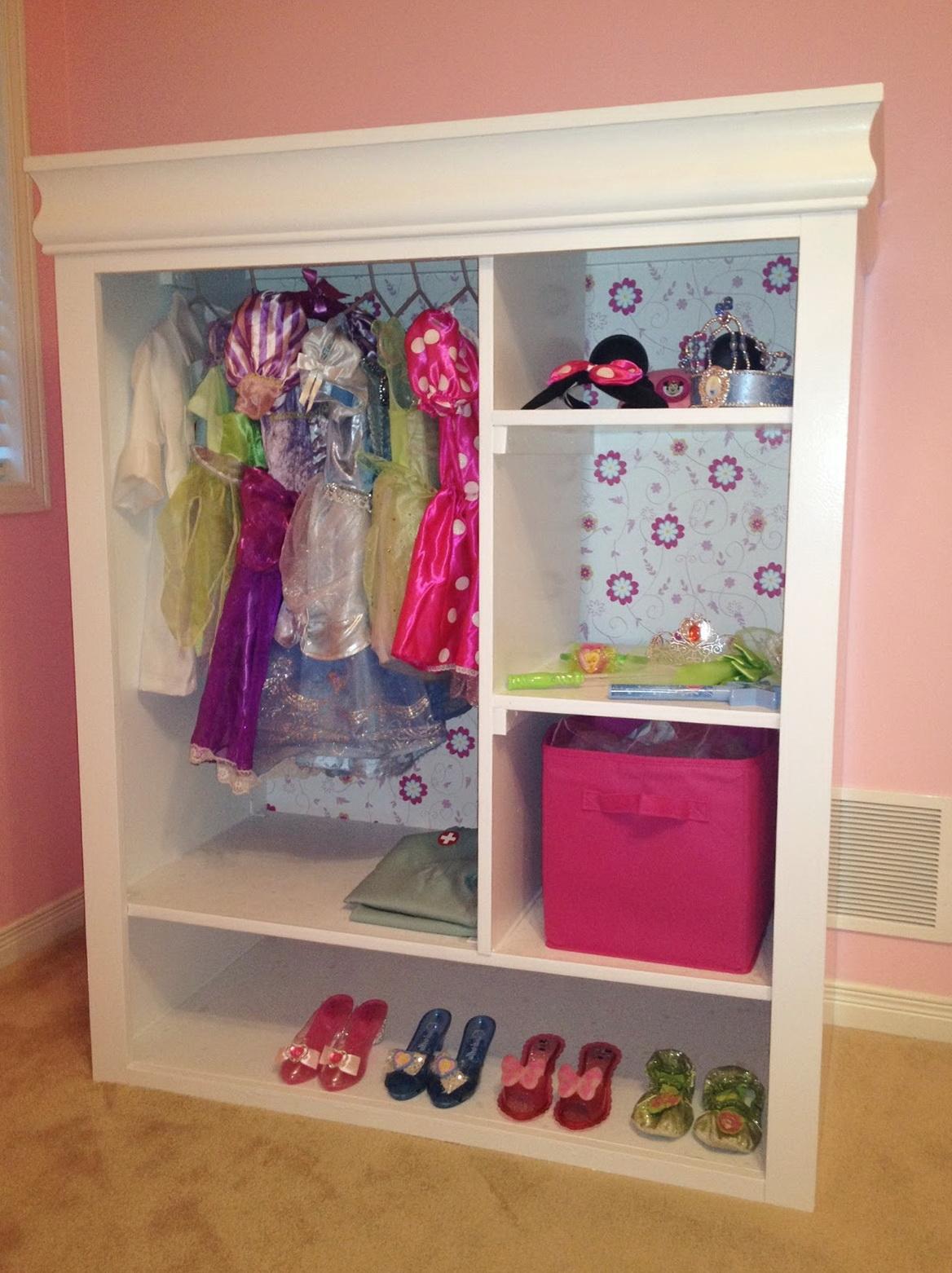Kids Dress Up Wardrobe Closet