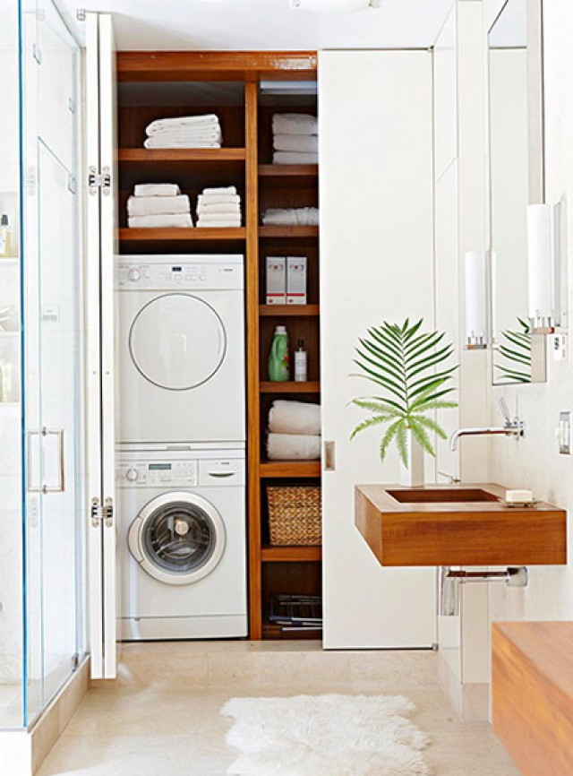 Laundry Room Closet Organizers