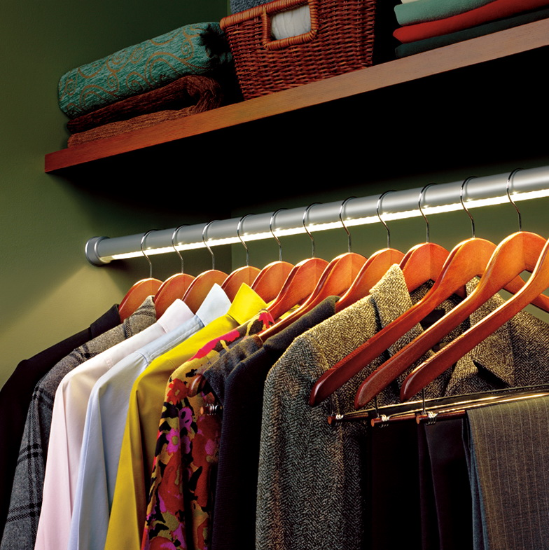 Lighted Closet Rod Hafele Home Design Ideas