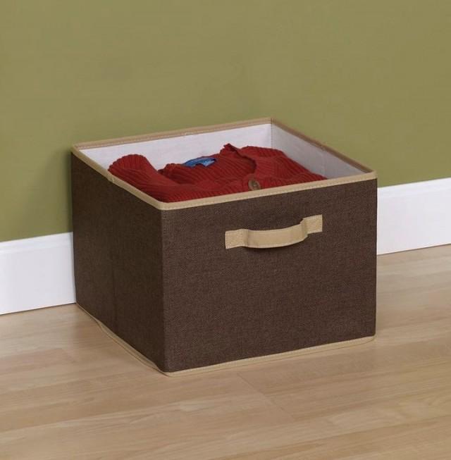 Linen Closet Organizer Bins