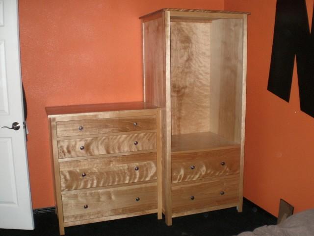 Low Dresser For Closet