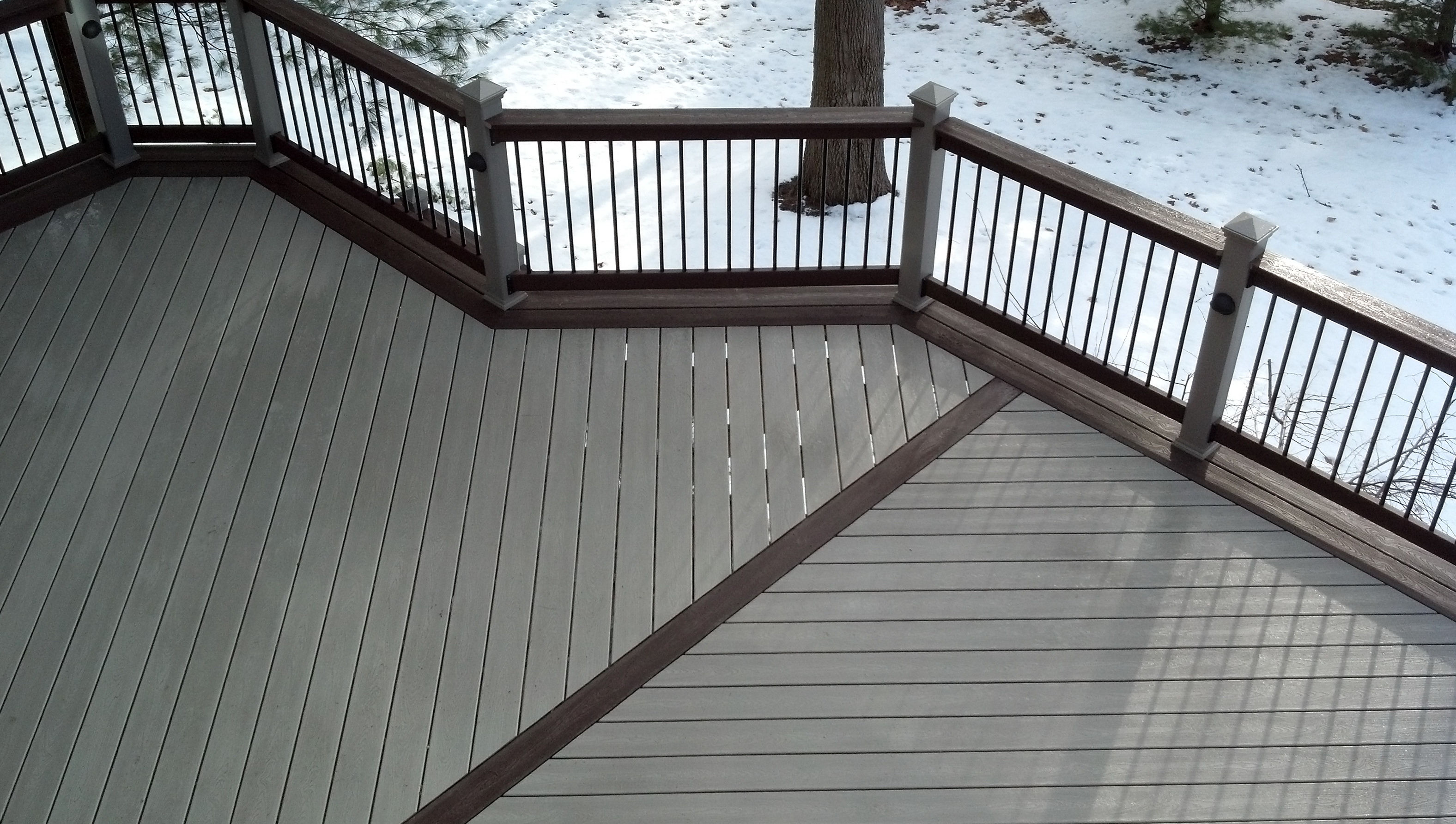 Lowes trex decking colors home design ideas for Composite decking colors