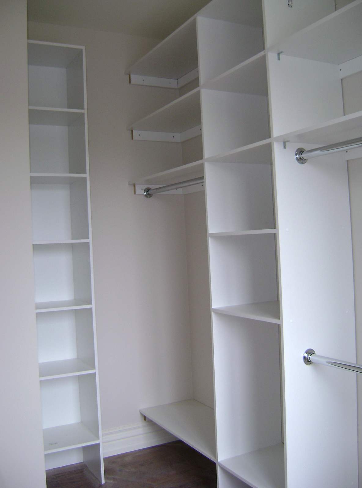 Make your own closet system home design ideas for Design your own closet