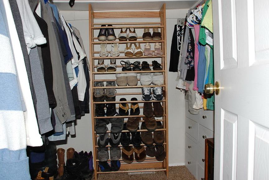 Men Shoe Rack For Closet