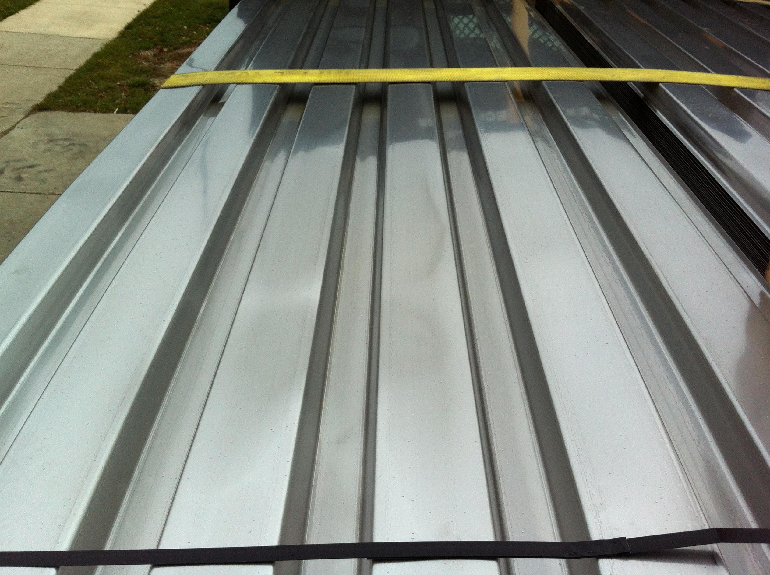 Metal Roof Decking Details