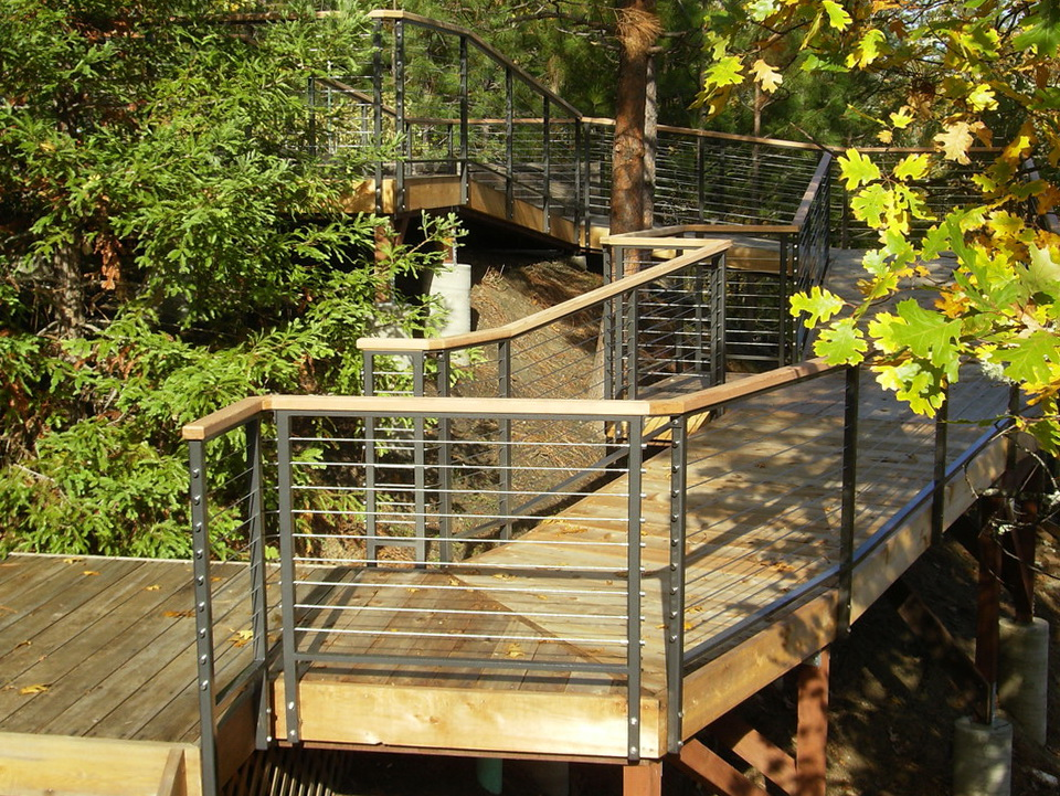 Modern Deck Railing Systems Home Design Ideas