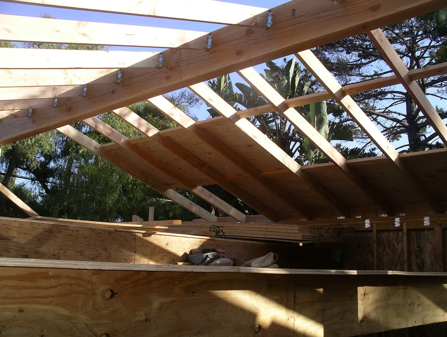 Old Roof 1x8 Tongue And Groove Roof Decking