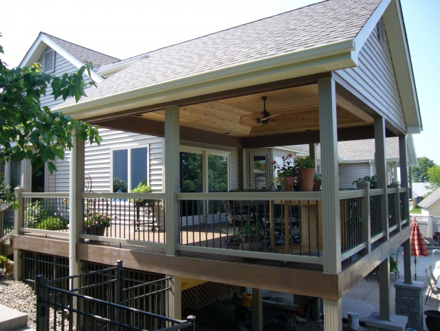 Outdoor Covered Deck Ideas