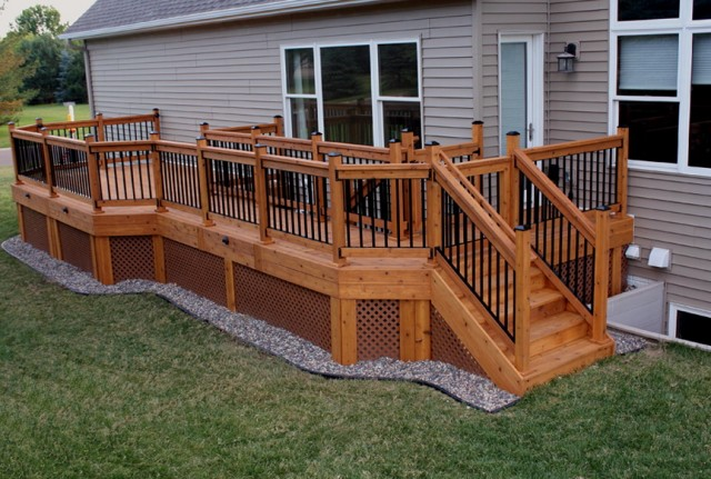 Outdoor Deck Gates Safety Home Design Ideas