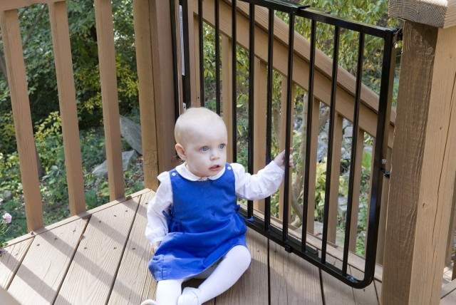 Outdoor Deck Gates Safety