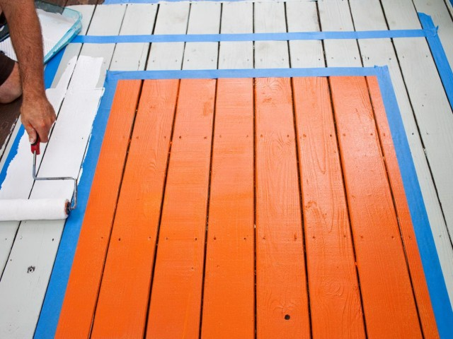 Outdoor Deck Paint Or Stain
