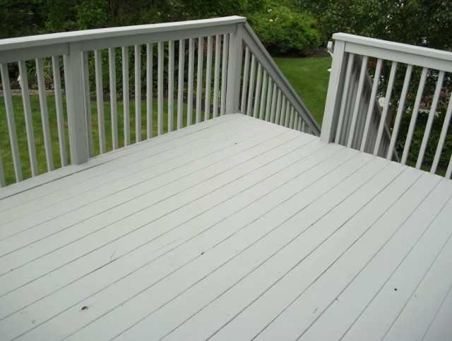 Outdoor Deck Paint Remover