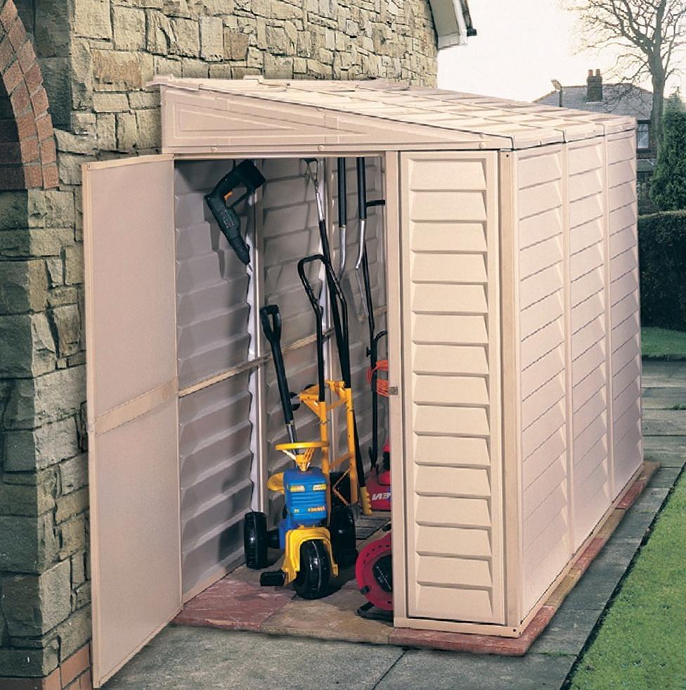 Outdoor Storage Closet Plans