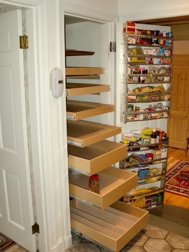 Pantry Closet Shelving Ideas