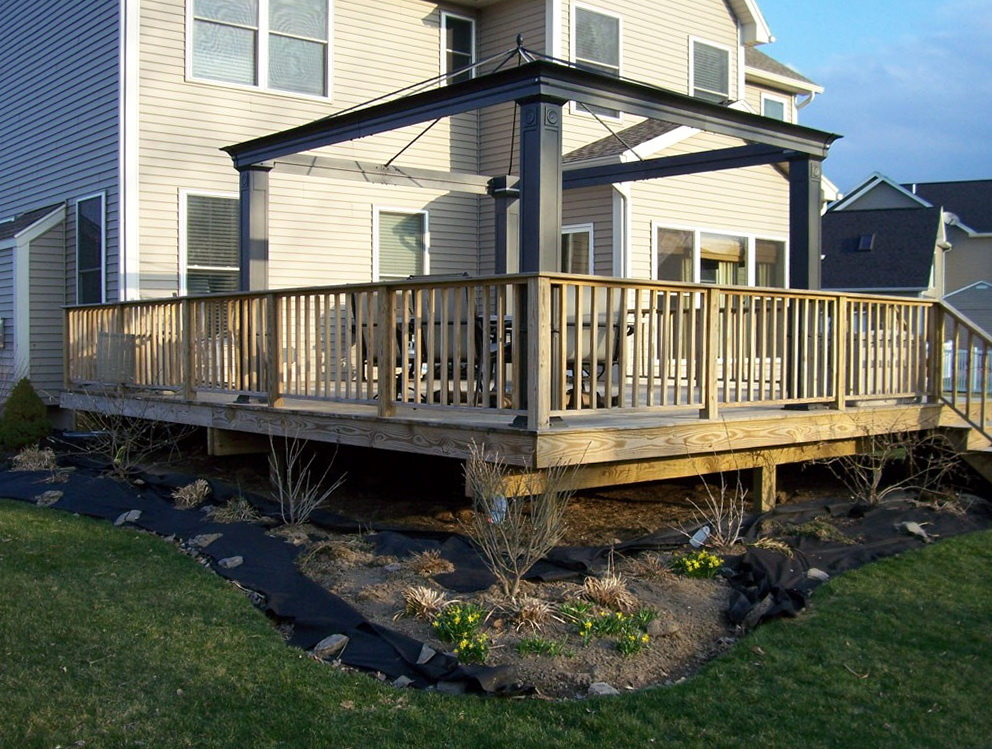 Patio And Deck Ideas For Backyard