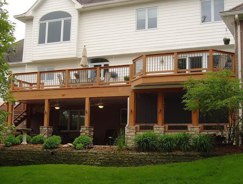Patio under deck designs home design ideas for Under porch ideas