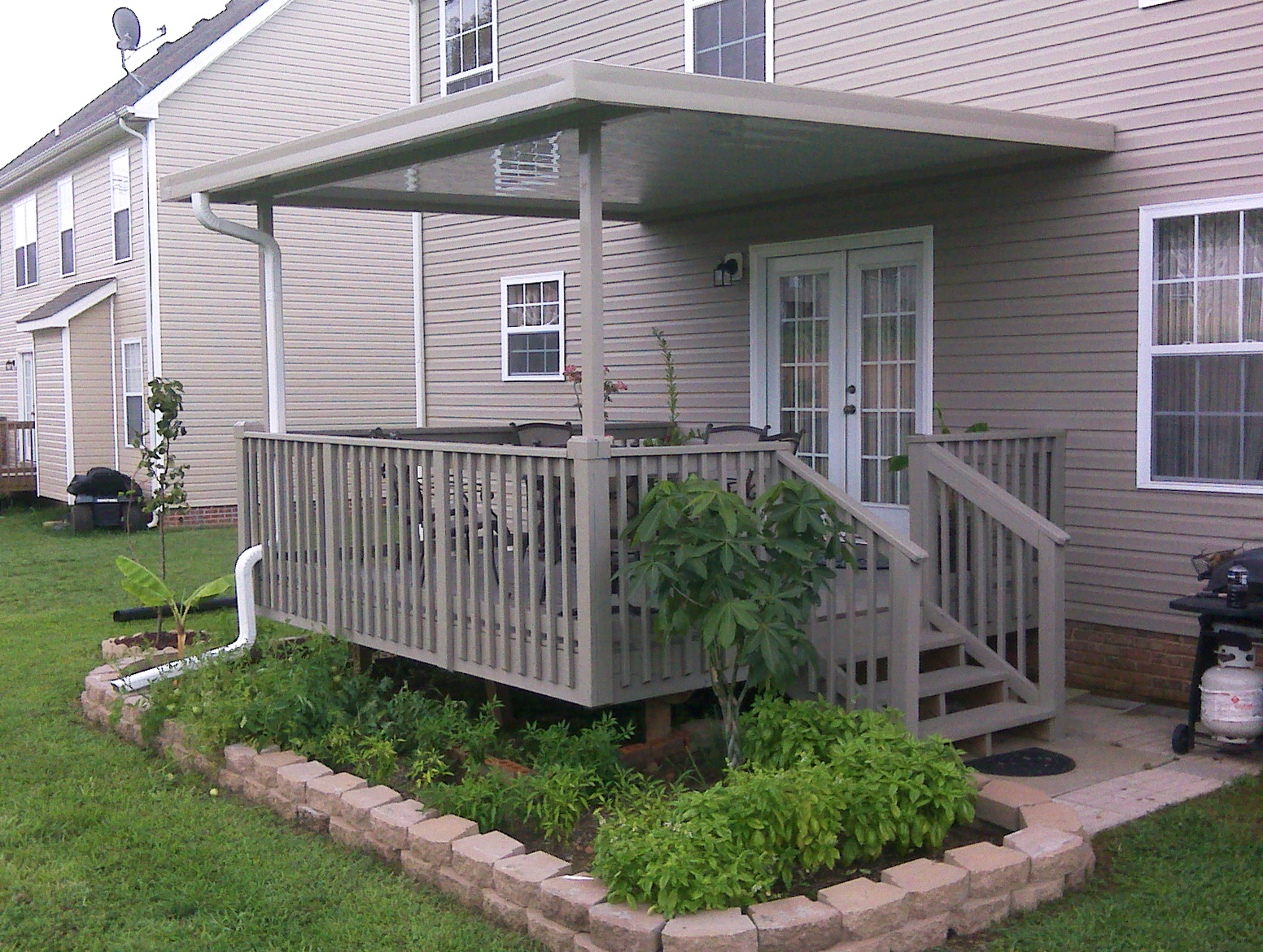 Permanent Awnings For Decks Home Design Ideas