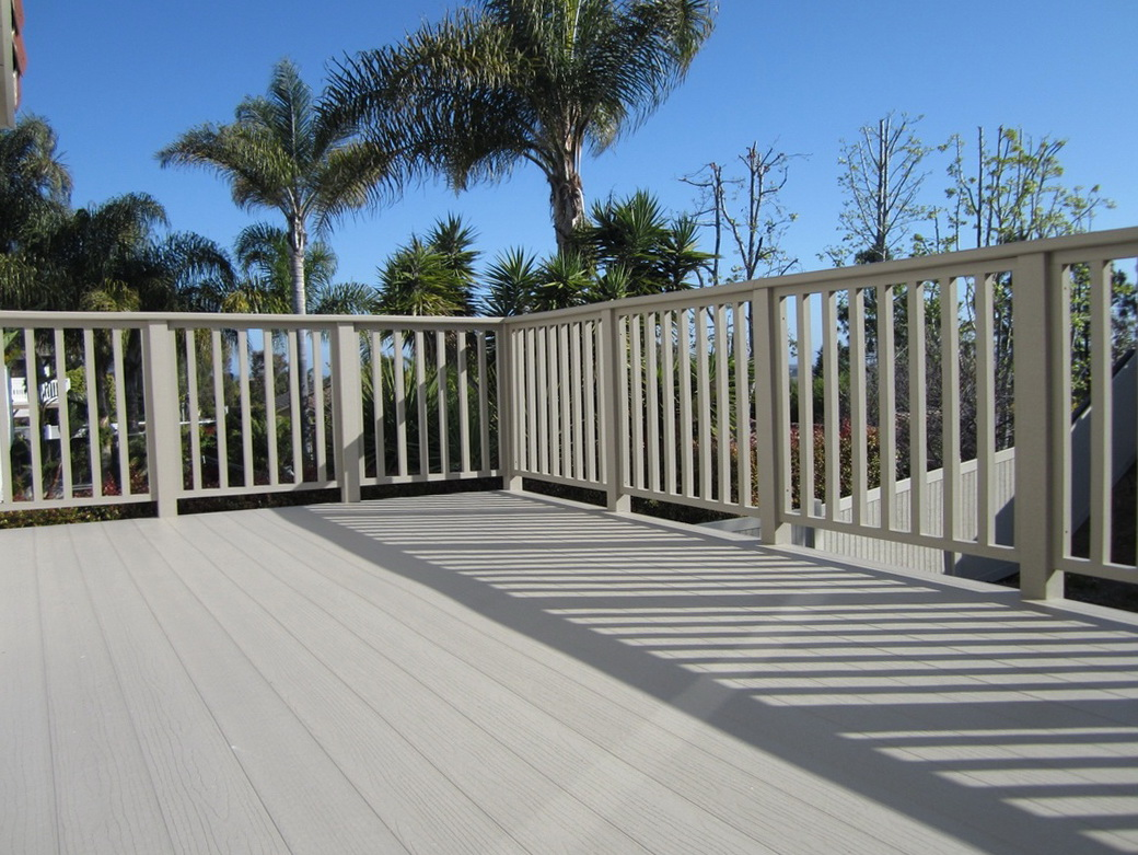 Plastic Decking Material Lowes Home Design Ideas