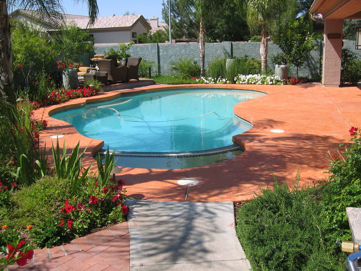 Pool Deck Paint Colors
