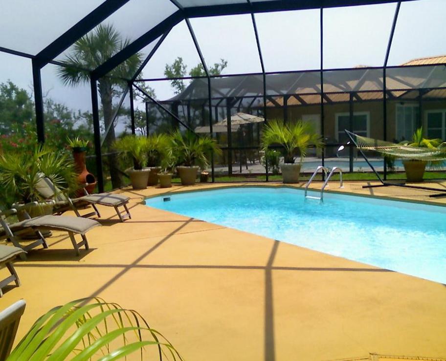 Pool Deck Paint Ideas Home Design Ideas