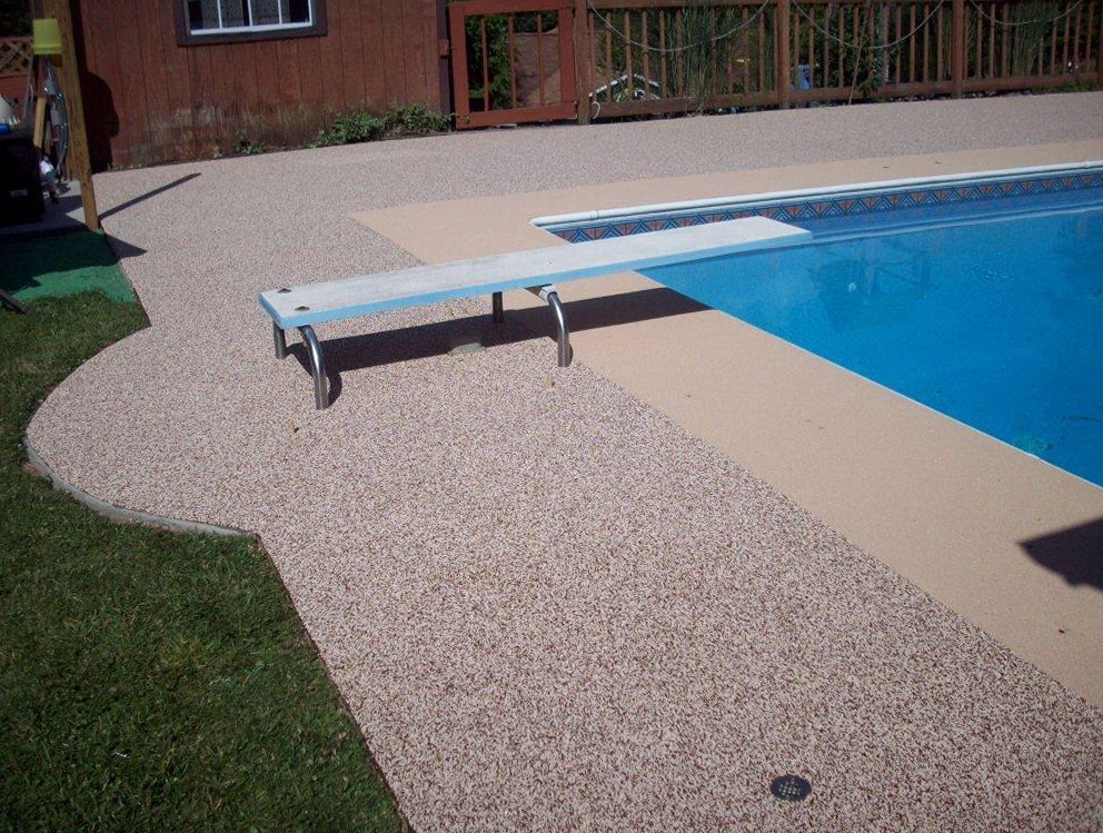 Pool Deck Surfaces Rubber