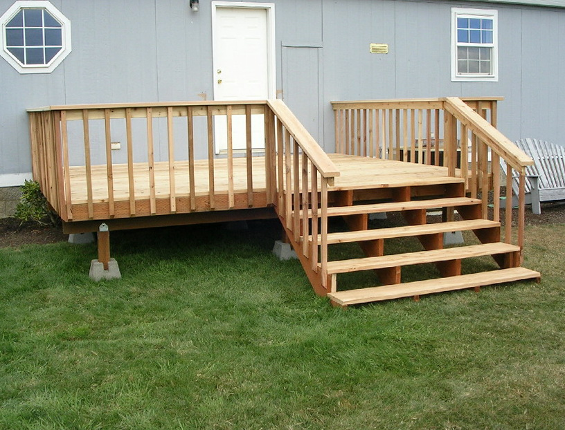 Porches And Decks For Mobile Homes Home Design Ideas