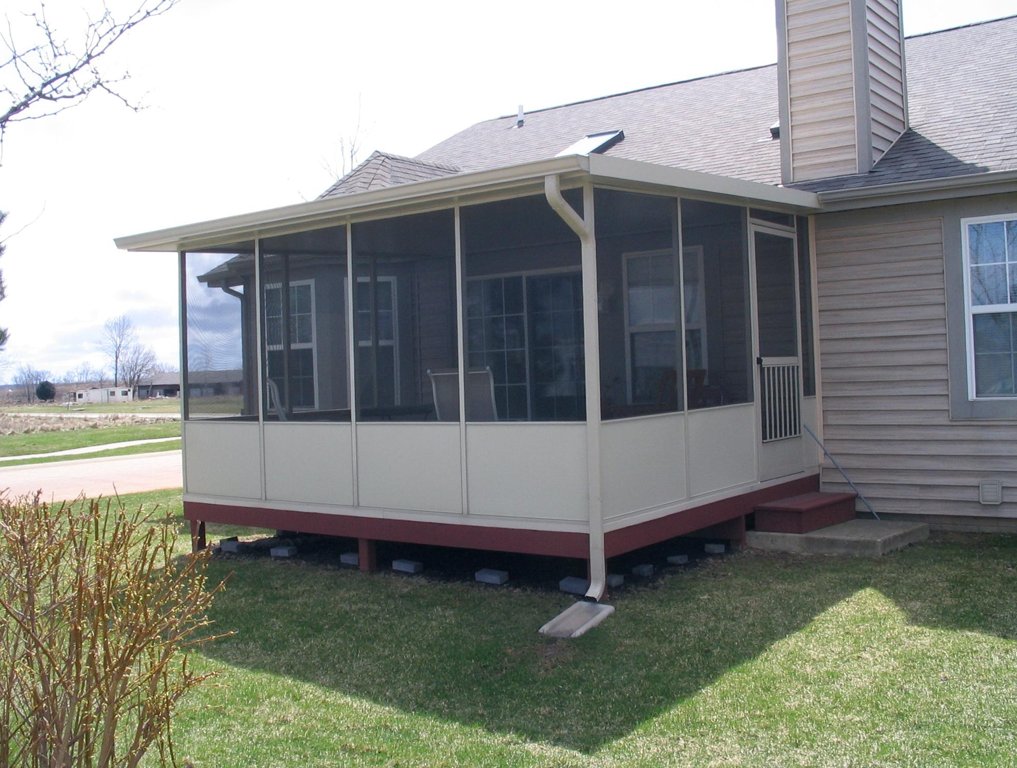 Portable Screen Room : Portable screen rooms for decks home design ideas
