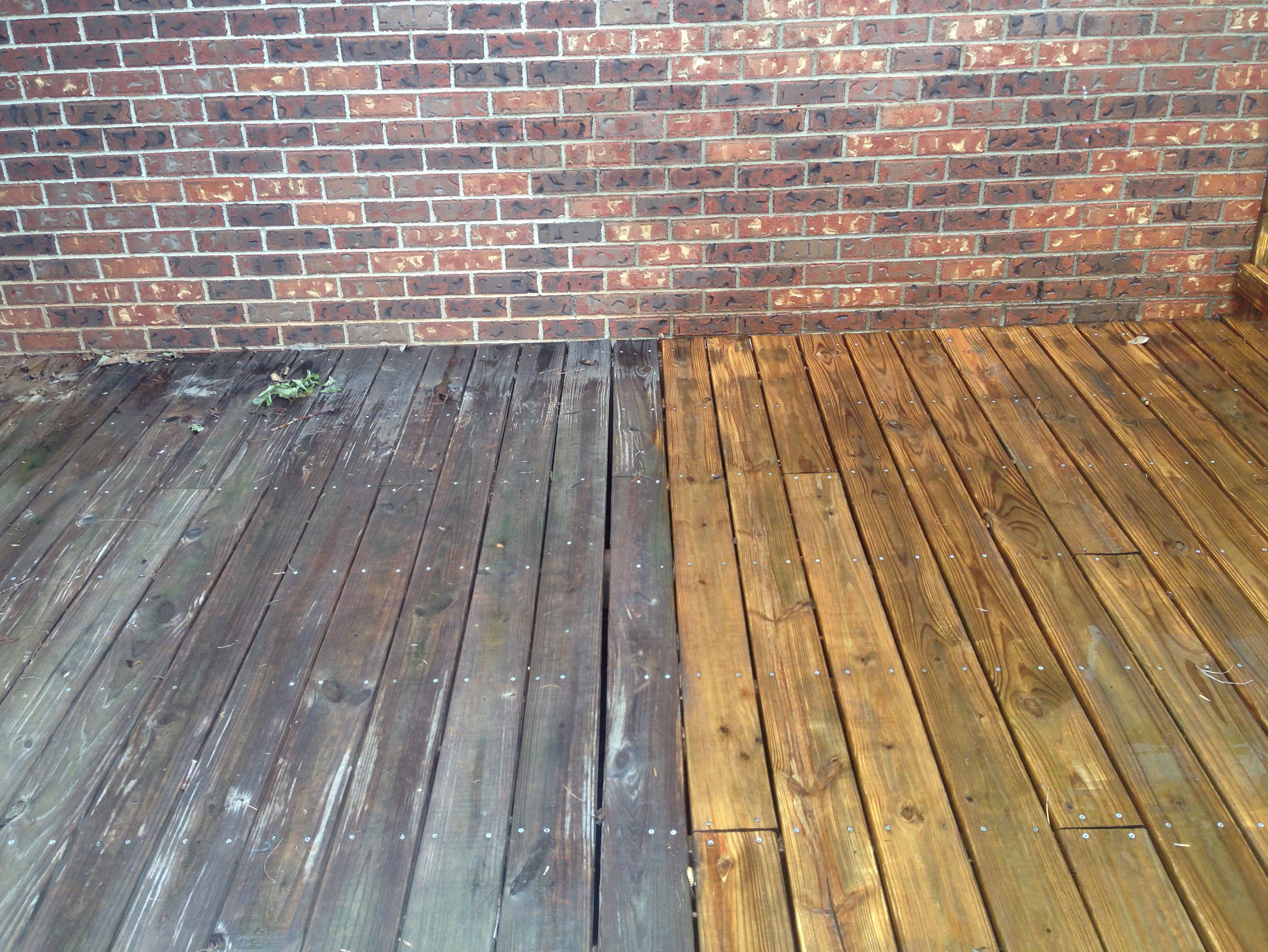 Power Washing Deck To Remove Stain Home Design Ideas