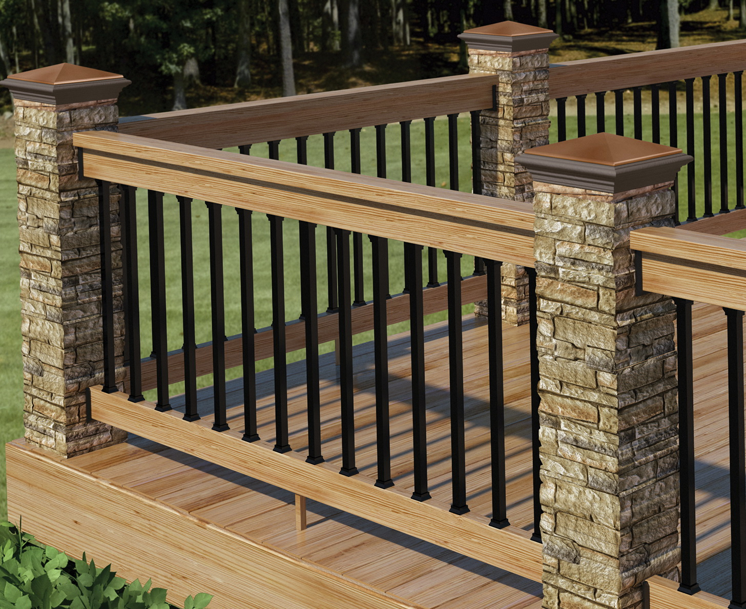 Railing For Decks Designs