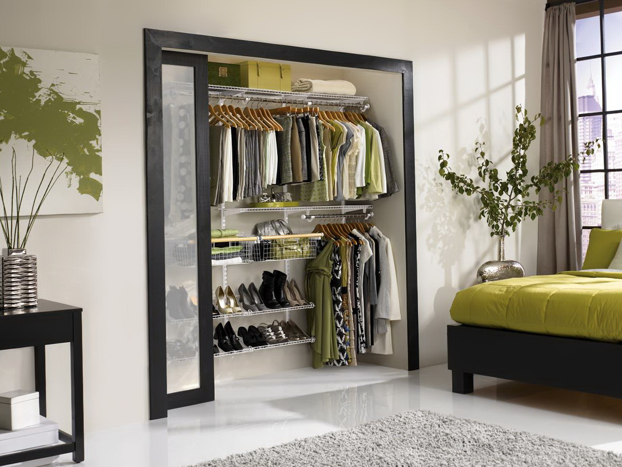 Reach In Closet Design Diy Home Design Ideas