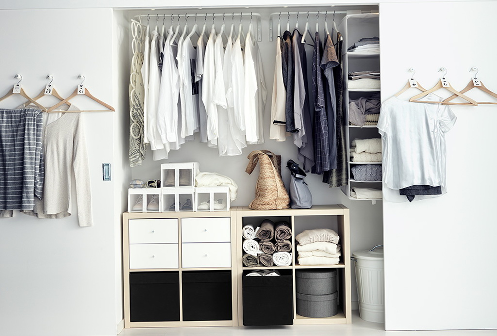 Reach In Closet Organizers Ikea Home Design Ideas
