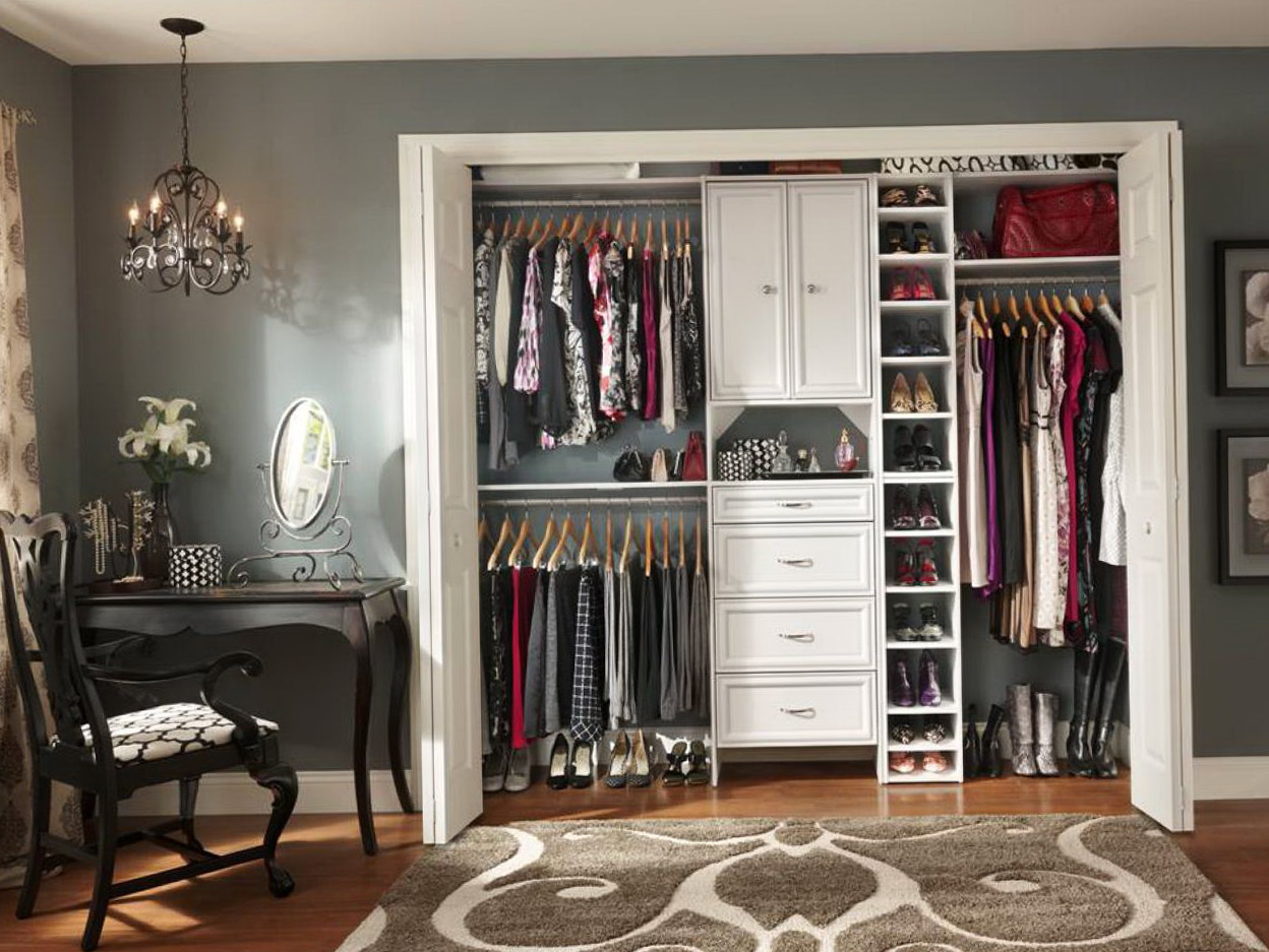 Reach In Closet Systems Diy Home Design Ideas