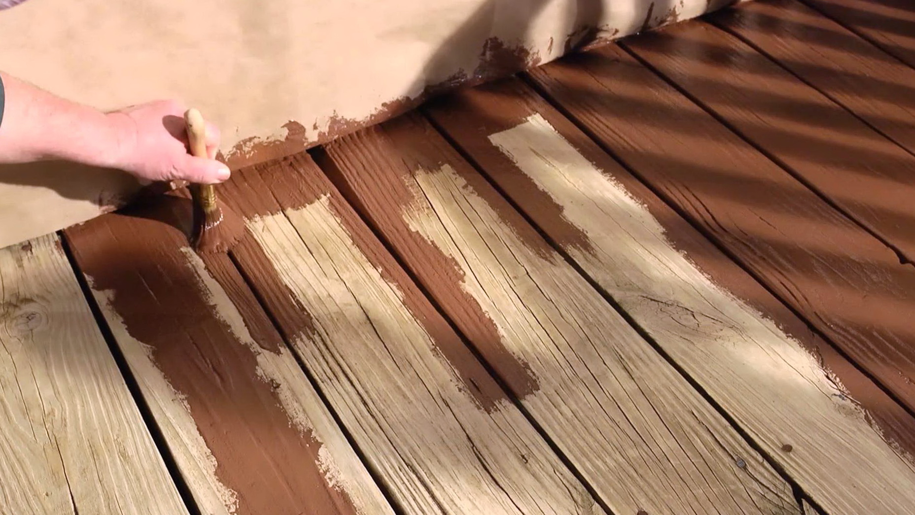 Restoring A Deck Olympic